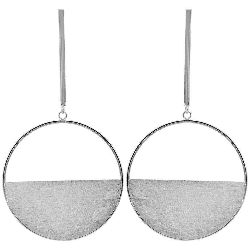 Sheila Fajl Avalon Earrings Silver