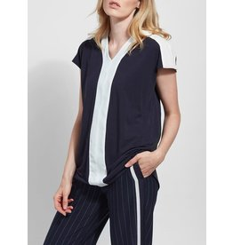 Lysse Yarrow Top True Navy