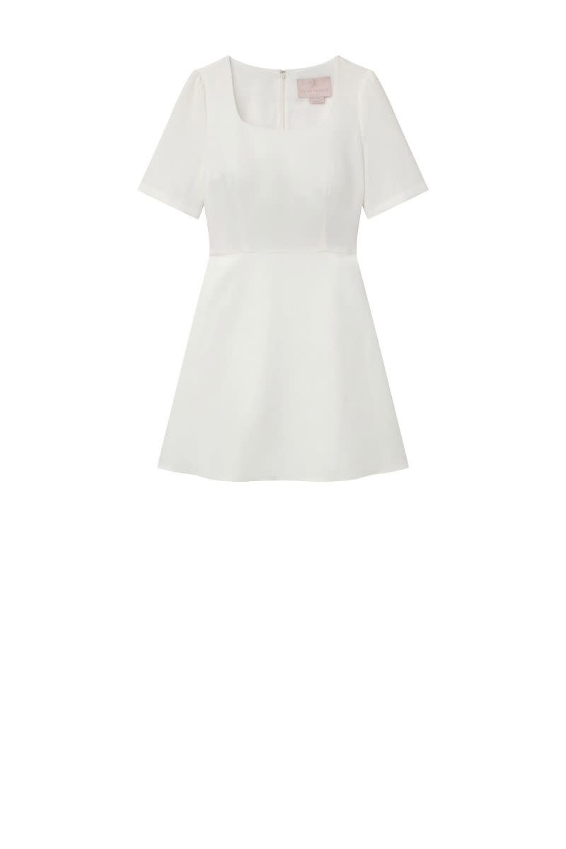Gal Meets Glam Julia White Dress