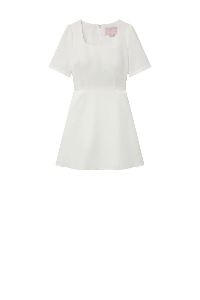 Julia White Dress