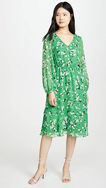 Rosalia Shamrock Midi Dress