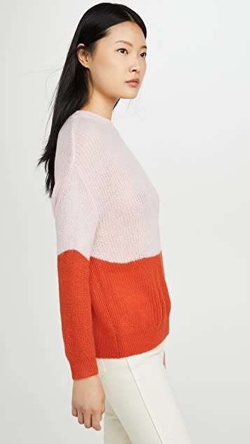 Cupcakes and Cashmere Janus Strawberry Cream Sweater