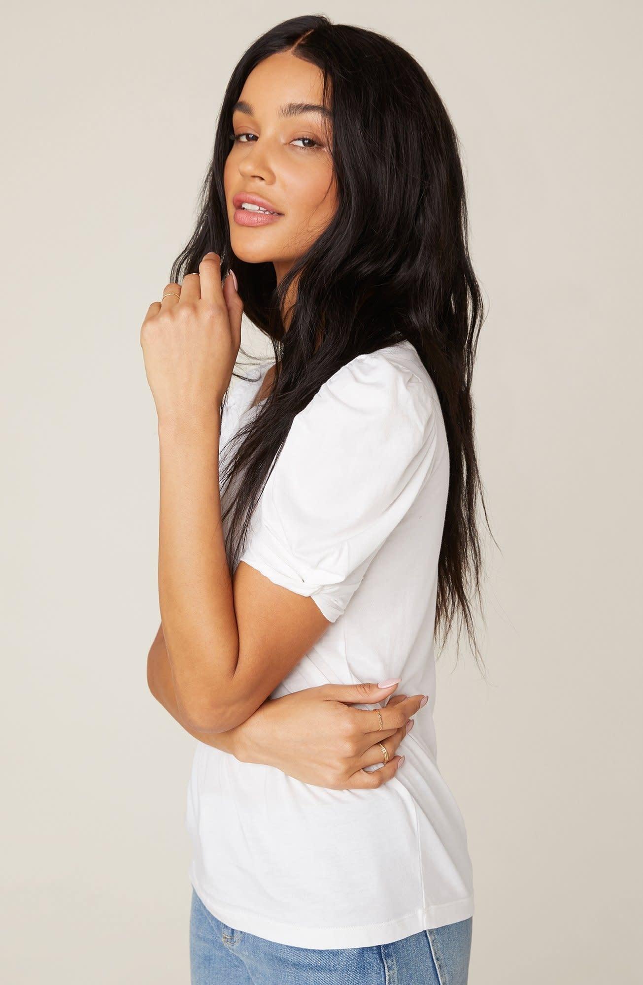 BB Dakota Huff & Puff White T-Shirt
