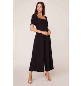 Total Smock Out Black Jumpsuit