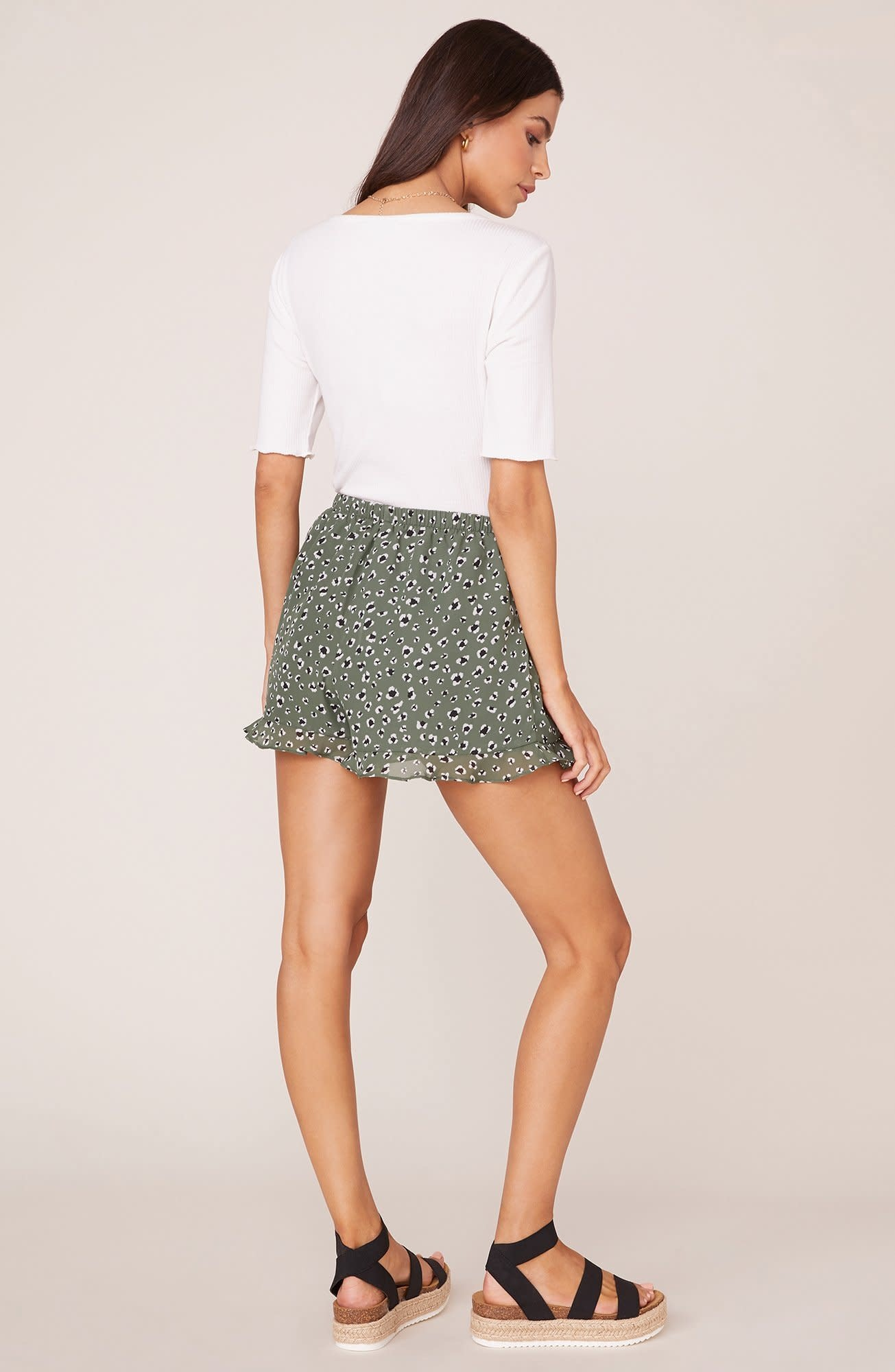 Jungle Cat Sage Leopard Short
