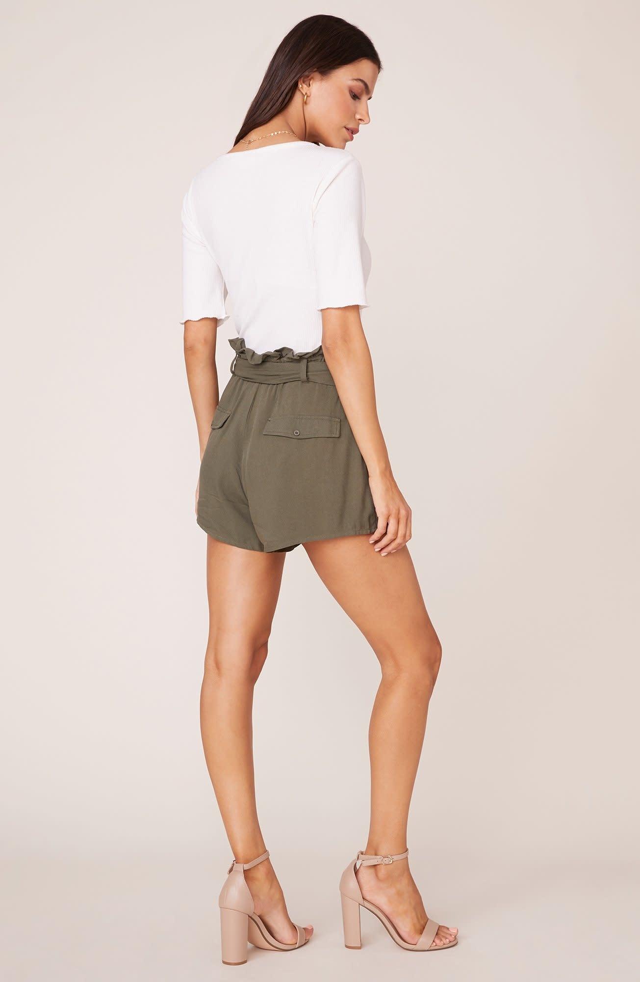Secure the Bag Sage Shorts