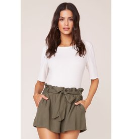 Jack by BB Dakota Secure the Bag Sage Shorts
