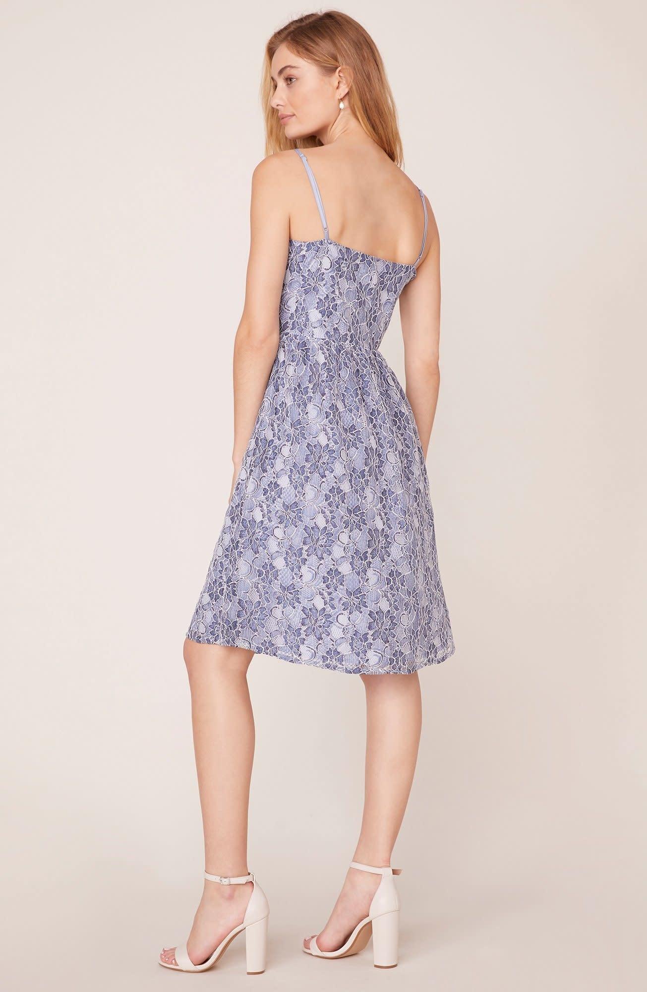 Jack by BB Dakota Sweet Life Two-Tone Lace Dress