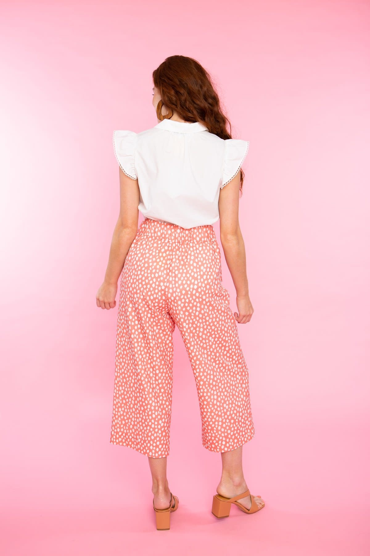 Crosby By Mollie Burch Dorthy Tie Pant Wildcat Clay