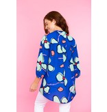 Crosby By Mollie Burch Marti Tunic Abstract Orchid