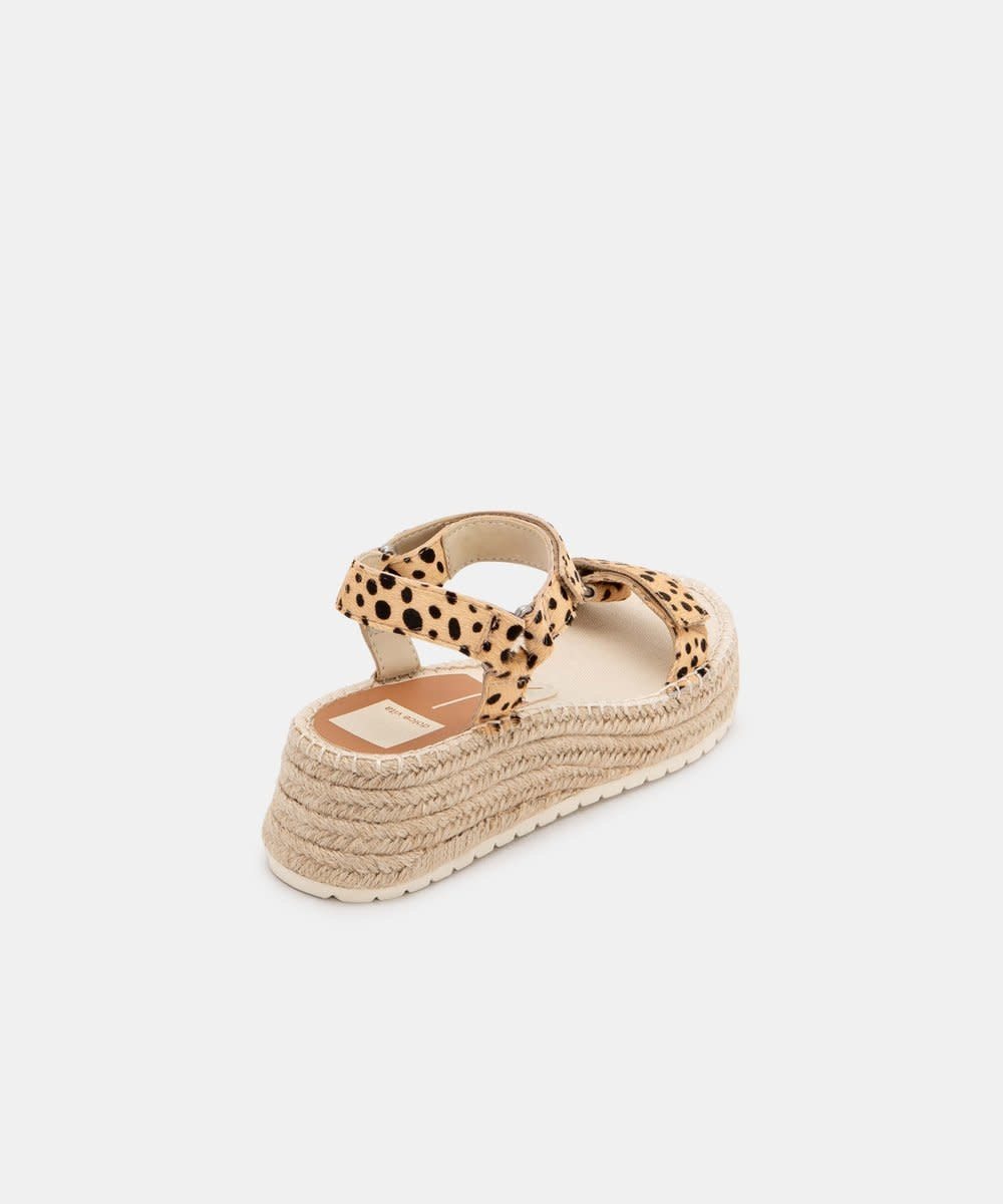Dolce Vita Myra Sandals in Leopard