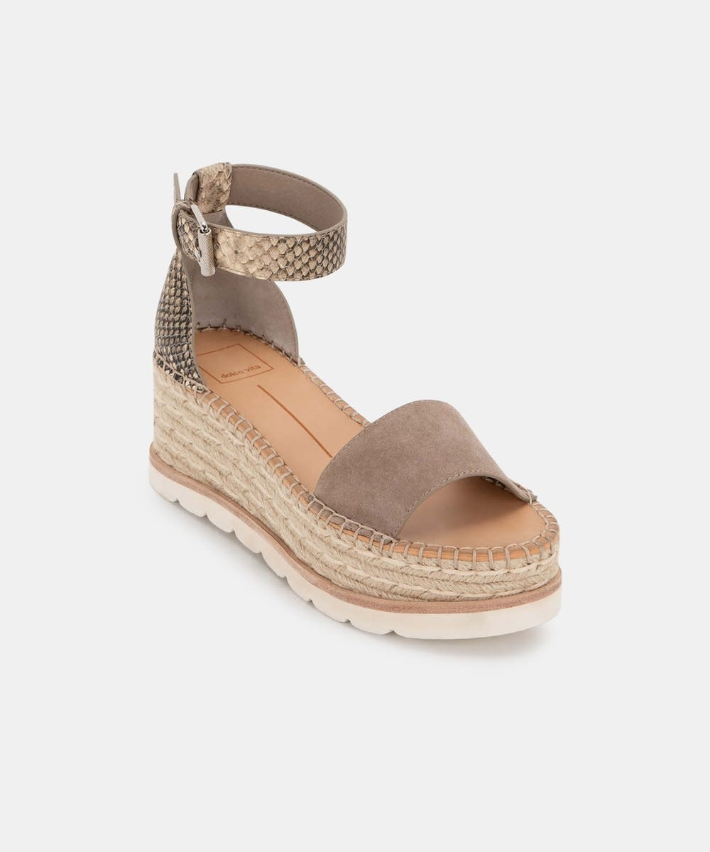 Dolce Vita Laurita Sandals in Taupe Multi