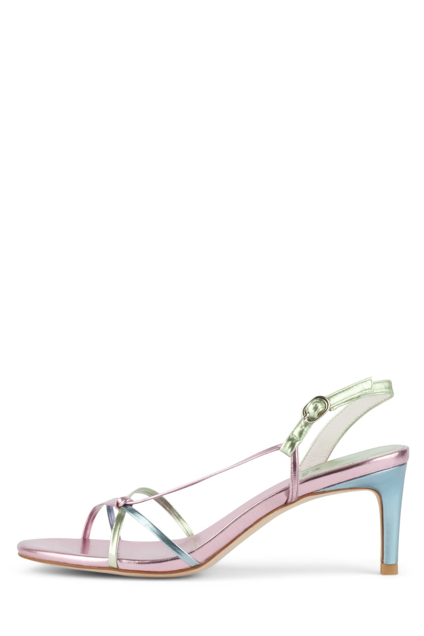 Jeffrey Campbell Hestia Pastel Metallic Sandal