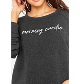 Project Social T Cardio/Carbs Reversible Sweatshirt