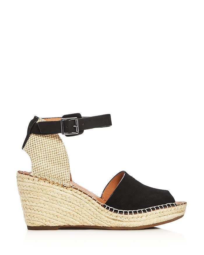 Gentle Souls Charli Black Wedge