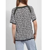 Lysse Lucy Leopard Jacquard Sweater