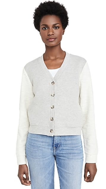 Jack by BB Dakota Third Base Heather Grey Jacket