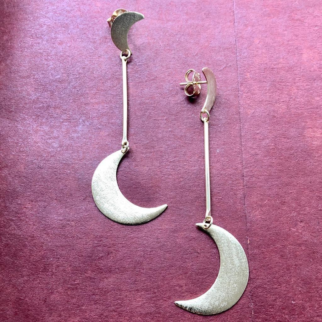 Sheila Fajl Manduka Earrings Silver