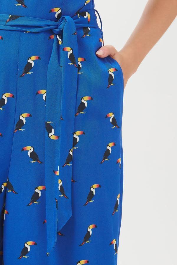 Sugarhill Brighton Athina Rainbow Toucan Culotte Jumpsuit