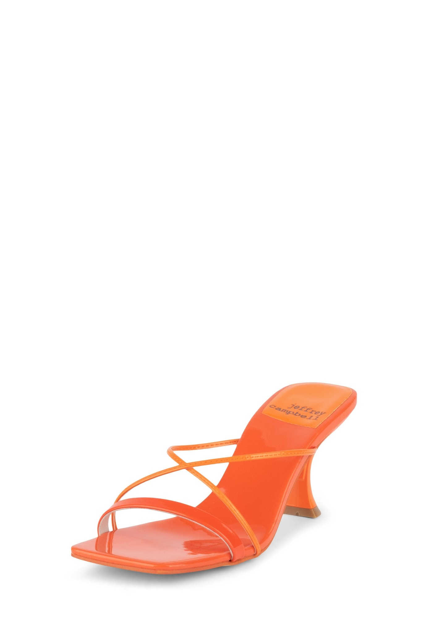 Jeffrey Campbell Mural-2 Orange Slide