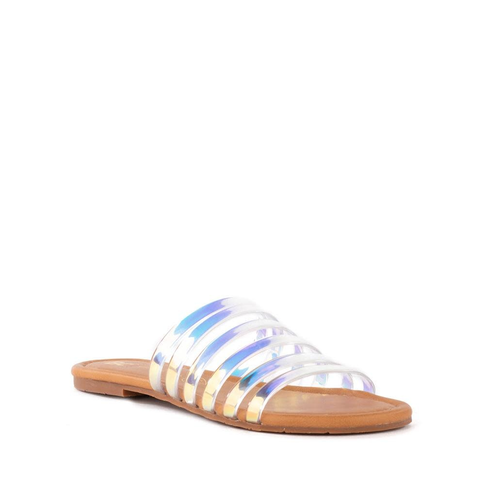 For You Iridescent Sandal