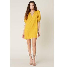 BB Dakota FIelds of Gold Shift Dress