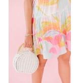 La Roque Chelsea Whimsical Watercolor Dress