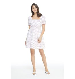 Gal Meets Glam Dorothy Square neck Dress