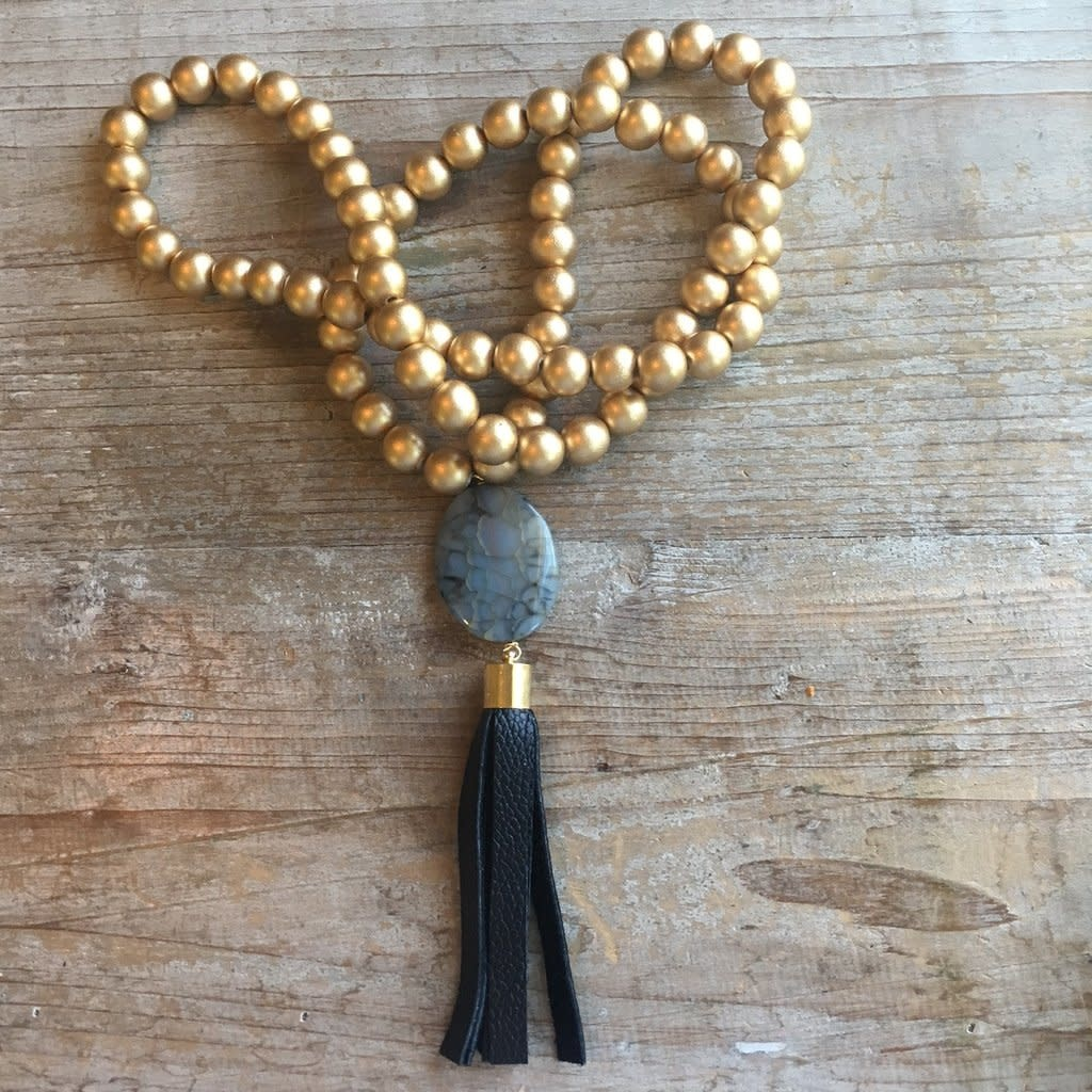 Erin Mcdermott Jewelry Del Mar Tassel Necklace