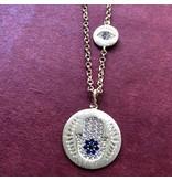 Sheila Fajl Mugana Necklace Silver Plated