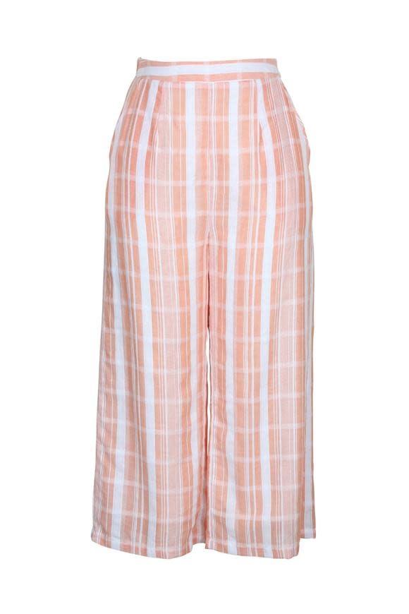 MINKPINK Peach Stripe Culotte
