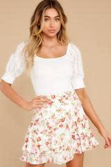 MINKPINK Uncharted Heart MIni Skirt