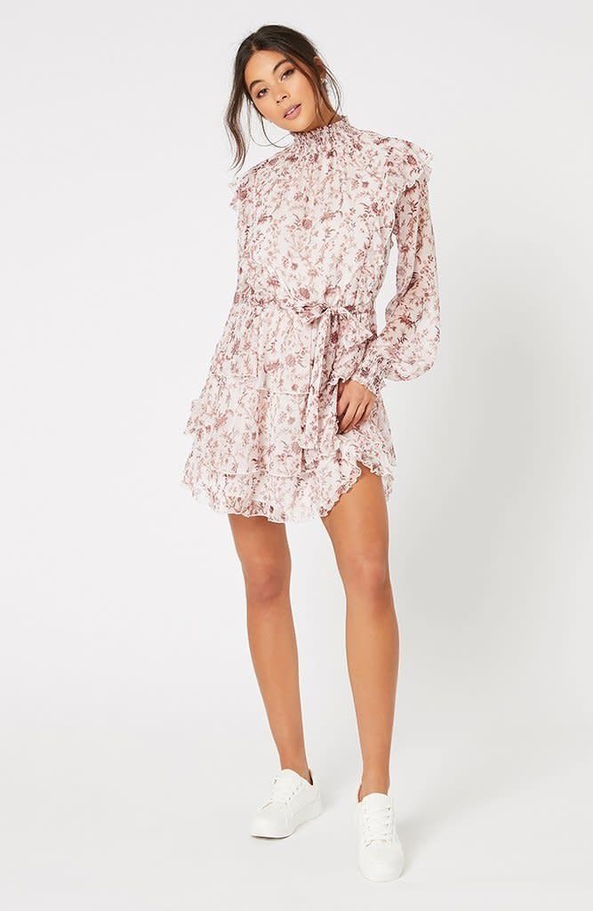 MINKPINK Melannie Chiffon Mini Dress