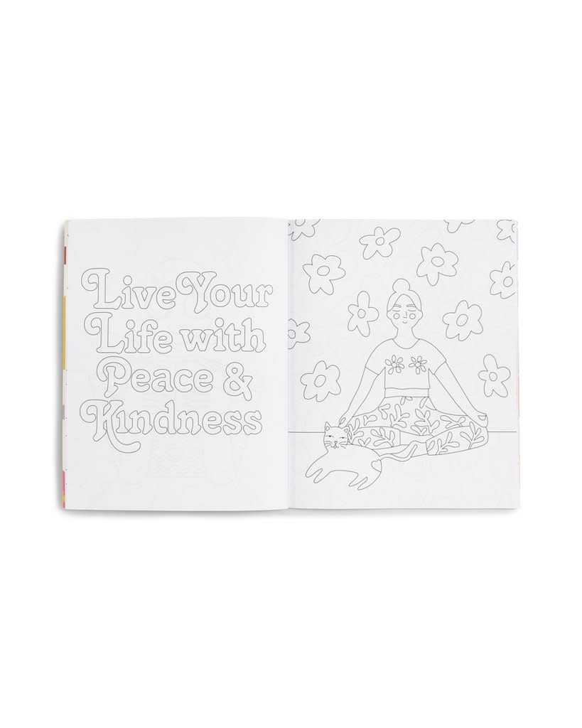Ban.do Wellness Coloring Book