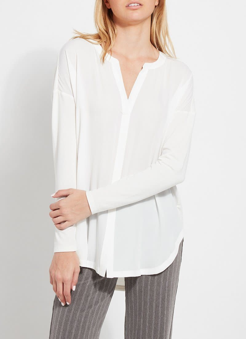 Lysse Millie Top Off White