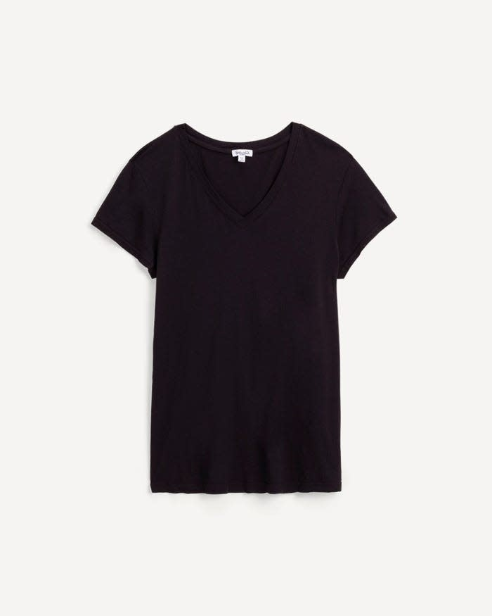 Splendid Kate V-Neck Black
