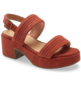 Seychelles Customs Rust Suede Platform