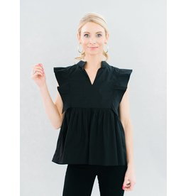 La Roque Brooks Top in Black
