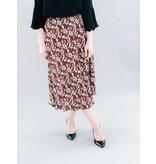 La Roque Martha Midi Skirt in Fancy Floral