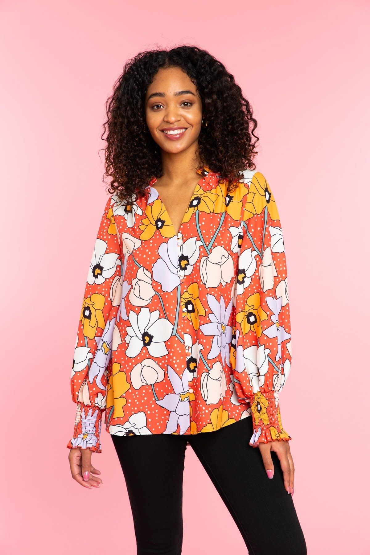 Crosby By Mollie Burch Wallflower Adair Top
