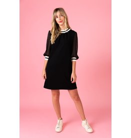 Crosby By Mollie Burch Black Harrison Dress