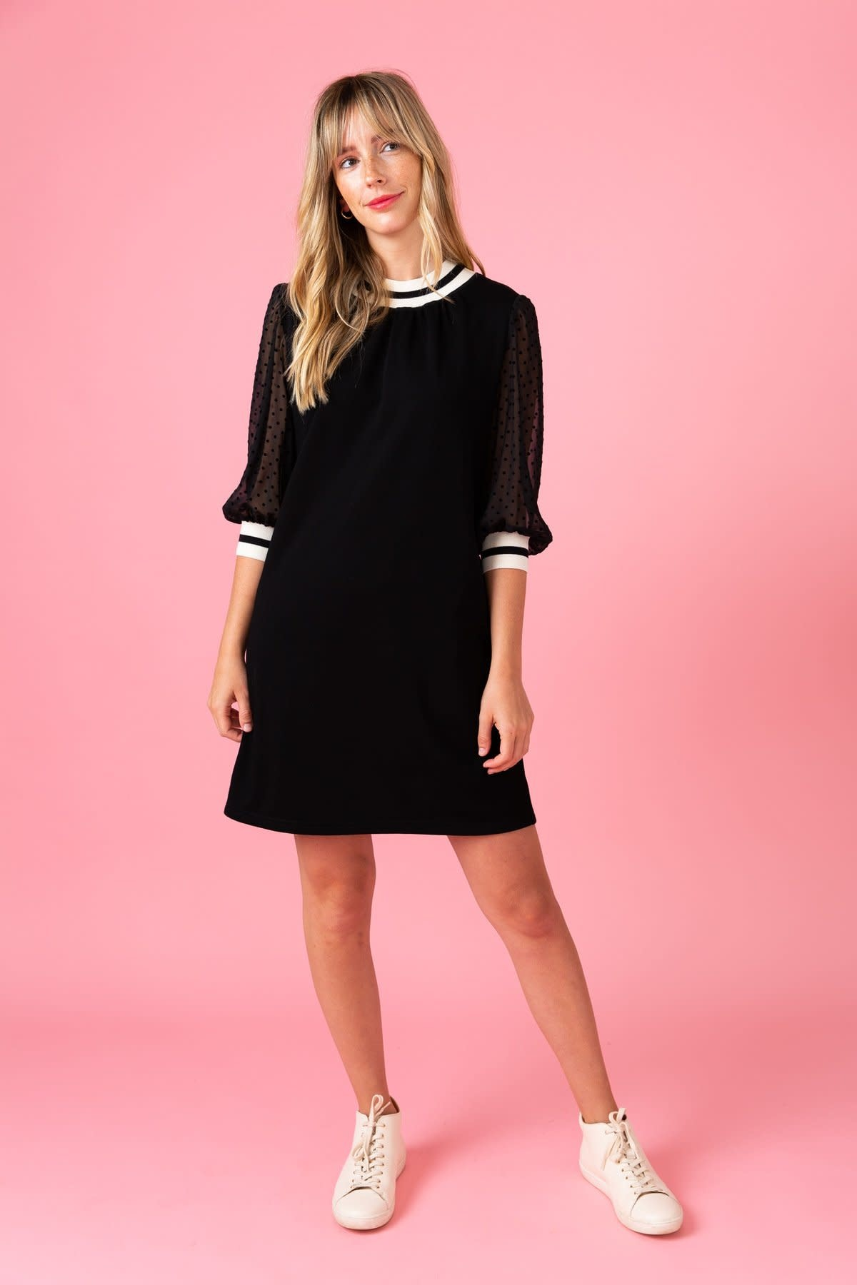 Crosby By Mollie Burch Black Harrison Dress