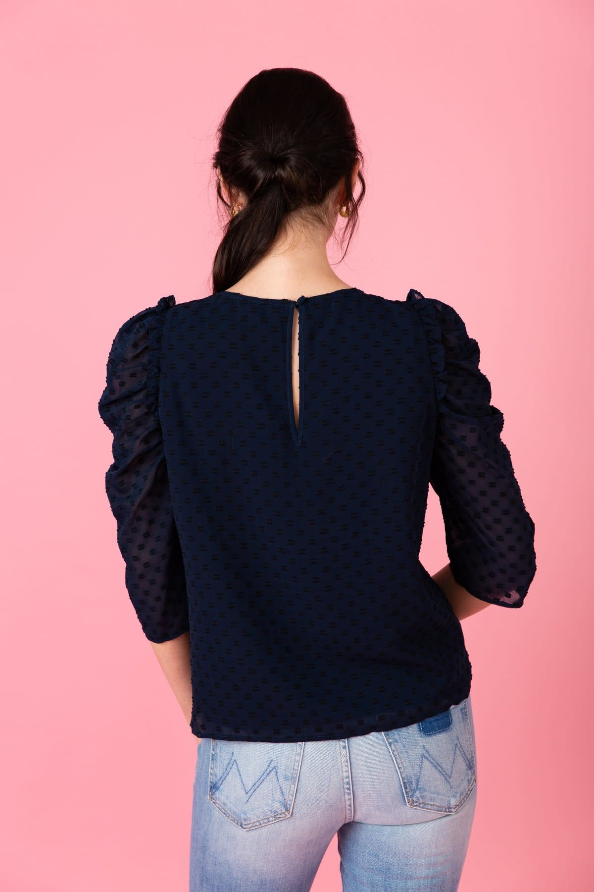 Crosby By Mollie Burch Nightfall Lurie Top