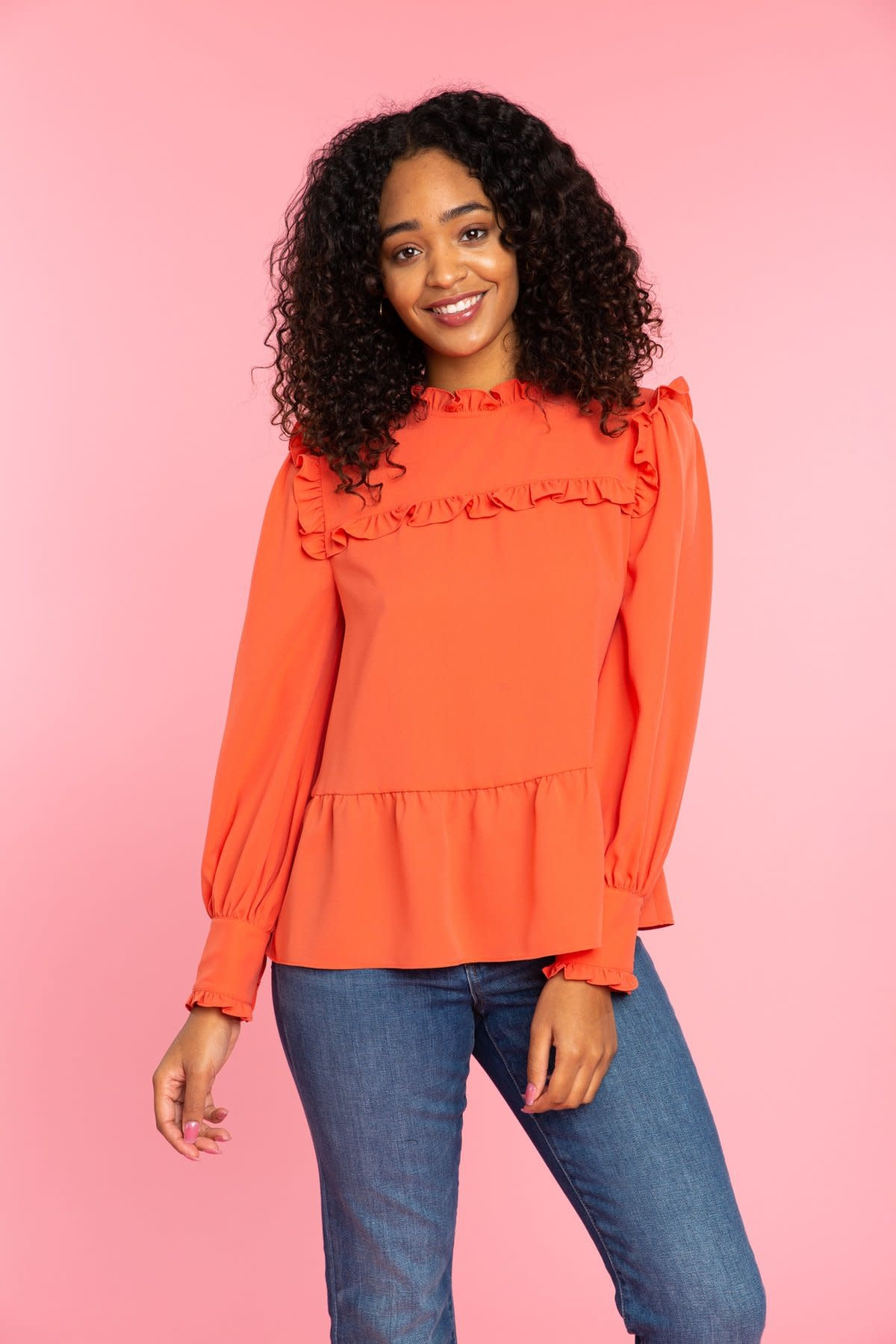 Crosby By Mollie Burch Red Rock Wilkins Blouse