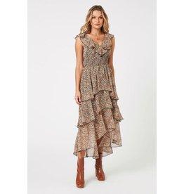 MINKPINK Fleetwood Floral Chiffon Dress