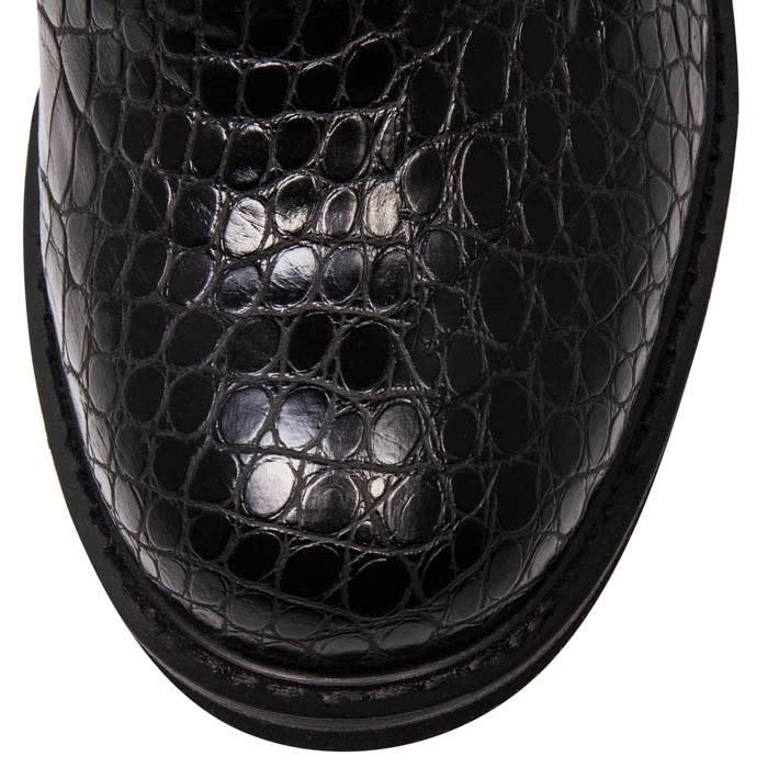 Irregular Choice Scraper Black Boot