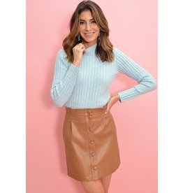Joanie Dark Camel Skirt
