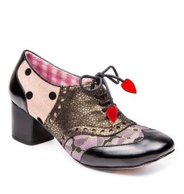 Irregular Choice Clara Bow Black/Pink