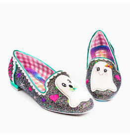 Irregular Choice Til Death Ghost Flat