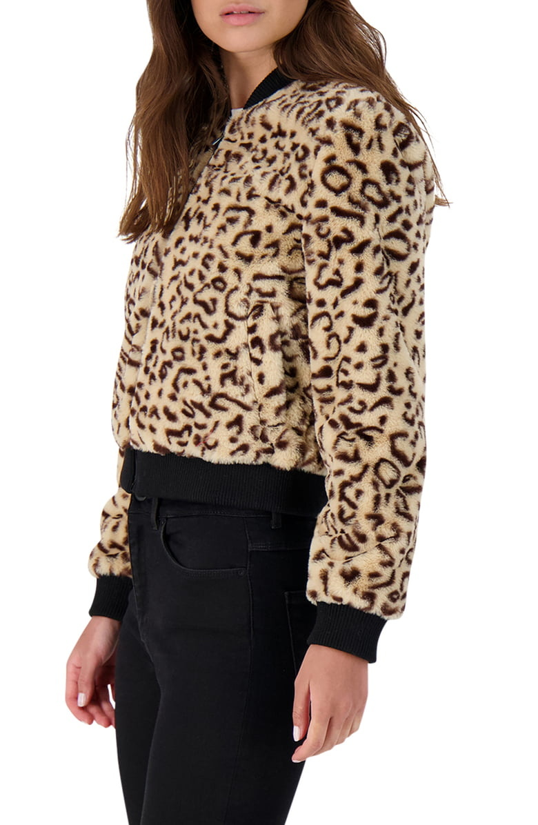 Meow Factor Tan Faux Fur Jacket